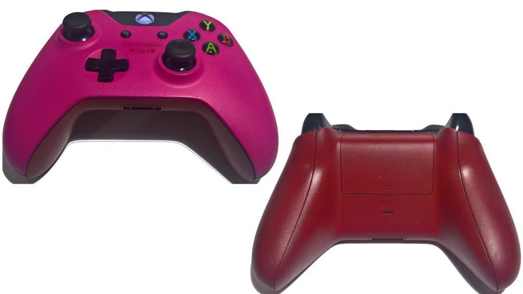 Controle do Xbox finalizado